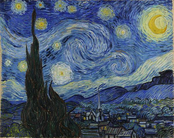 1024px Van Gogh Starry Night Google Art Project