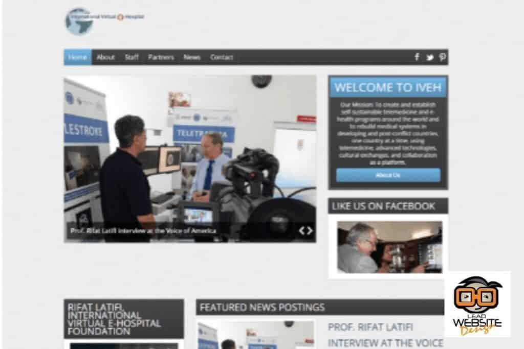 iveh website design project