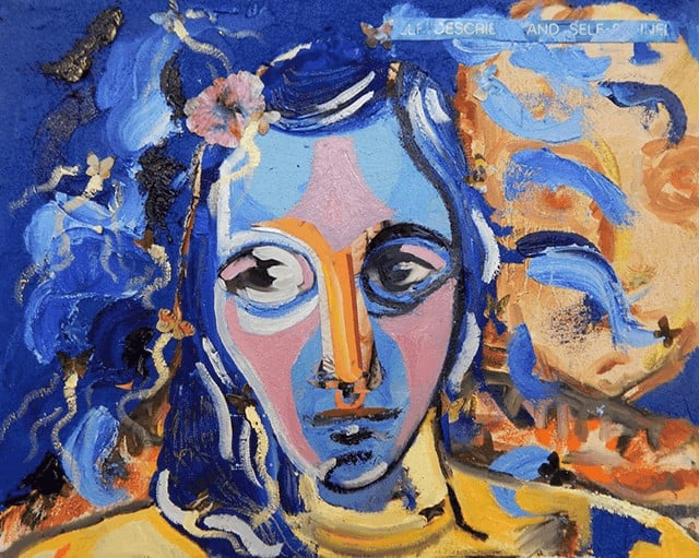 mental illness overcame artist
